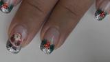 Cách sơn móng tay phong cách Giáng sinh đẹp nhất cho bạn gái