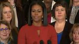 Nghẹn ngào trước lời tạm biệt của đệ nhất phu nhân Michelle Obama