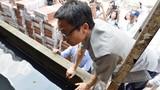 Ảnh: Phó Thủ tướng kiểm tra bể nước tại ổ dịch sốt xuất huyết ở Hà Nội