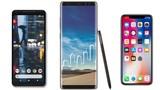 Nên mua iPhone X, Google Pixel 2 XL hay Galaxy Note 8?