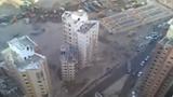 Kinh hoàng cả tòa nhà đổ sập trong chớp mắt