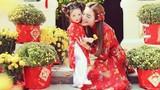 Ảnh Tết đẹp rực rỡ của Elly Trần và con gái