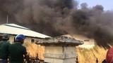 Công ty nhựa ở Đồng Nai bốc cháy ngùn ngụt, khói đen trời