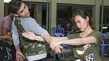 Hot girl Midu luyện võ thuật cùng trai đẹp