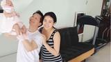 Phan Như Thảo khoe cận mặt con gái một tháng tuổi