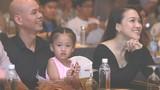 Phan Đinh Tùng đưa vợ con đi sự kiện
