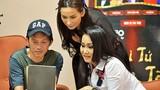 Danh hài Hoài Linh bình dân đi quay hình game show