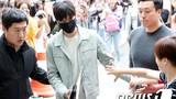 Fan xếp hàng dài tiễn Lee Min Ho lên đường nhập ngũ