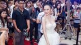 Vừa bị sốt, Angela Phương Trinh đã nuột nà đi ra mắt phim