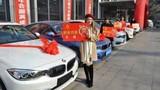 Sếp nữ 21 tuổi thưởng tết nhân viên bằng siêu xe BMW