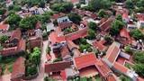 Vẻ đẹp tuyệt vời của làng cổ Đường Lâm nhìn từ trên cao