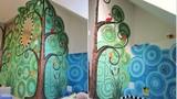 Những kiểu tường trang trí nhà nghệ thuật bằng gốm sứ