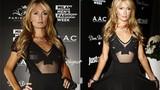 Paris Hilton hớ hênh vì váy áo kiệm vải