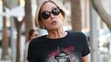 Sharon Stone không giấu được vẻ già nua