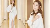Lâm Tâm Như xinh đẹp đi sự kiện sau 2 tháng sinh con