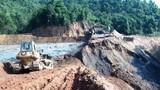 Công an điều tra vụ vỡ bể chứa bùn thải quặng thiếc ở Nghệ An