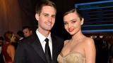 Miranda Kerr đã kết hôn với tỷ phú Snapchat