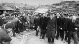 Ảnh hiếm: Nhật hoàng Hirohito thị sát sau CTTG2