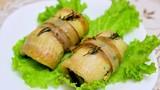 Cách làm món cá phi lê nhồi rau quả nướng thơm ngon