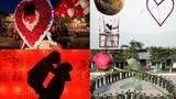 Tình yêu tràn ngập thế giới ngày Valentine