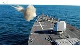 Kinh sợ uy lực hải pháo 127mm trên chiến hạm Mỹ