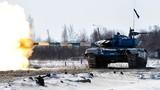 Khoảnh khắc tăng T-72B3 phóng tên lửa diệt phiến quân ở Syria