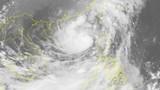 Chùm ảnh vệ tinh đường đi của cơn bão số 11