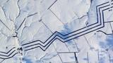Bí ẩn họa tiết dài dằng dặc trên cánh đồng tuyết ở Nga