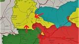 Xe tăng Thổ Nhĩ Kỳ tràn vào bắc Aleppo đánh người Kurd