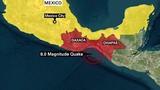 Động đất 8,1 độ Richter ở Mexico: Hơn 30 người chết