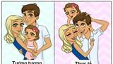 Chùm ảnh hài hước về cuộc sống hôn nhân khi có con