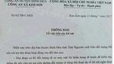 Bác bỏ thông báo việc bắt cóc trẻ em của trưởng CA xã ở Thái Nguyên