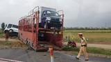 Hà Nội: Đường cao tốc Pháp Vân - Cầu Giẽ ùn tắc kéo dài sau TNGT