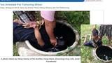 Sự thật về bức ảnh bạo hành trẻ em vì trộm dừa