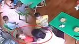 Thêm một cô giáo tát trẻ mầm non ăn chậm