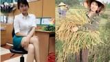 """Phải lòng cô hot girl gặt lúa """"tuyển chồng"""" gây bão like"""
