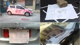 Những màn trả đũa tài xế đỗ xe vô ý thức bá đạo