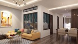 Thiết kế cực đẹp cho căn hộ 58m2 của gia chủ Hà Nội
