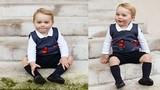Ngắm hoàng tử bé nước Anh mặc hàng hiệu tuyệt đẹp