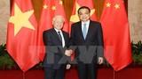 Tổng bí thư hội kiến với Thủ tướng Trung Quốc