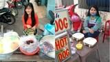 Dân mạng truy tìm tung tích hot girl bán xúc xích