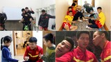 Hậu trường siêu dễ thương của tuyển thủ ĐT Việt Nam