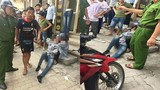 Phẫn nộ cô gái bị bạn trai đánh bất tỉnh giữa đường