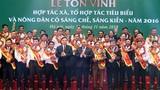 Thủ tướng dự lễ tôn vinh HTX, tổ hợp tác và nông dân tiêu biểu
