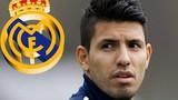 Chuyển nhượng bóng đá mới nhất: Real thèm muốn Aguero