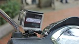 Thử ghi hình Hà Nội bằng... xe Piaggio Liberty