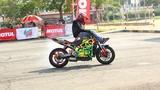 """Bikers Việt bốc đầu, """"phá xe"""" tại vòng loại Motul Stunt 2016"""