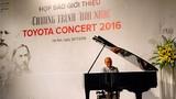 """Chương trình """"Hòa nhạc Toyota 2016"""" bước sang tuổi 19"""