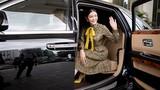 Lý Nhã Kỳ ngồi siêu xe sang Rolls-Royce 40 tỷ dự sự kiện