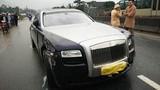 """""""Xế hộp"""" Rolls-Royce hơn 10 tỷ gây tai nạn tại Hà Tĩnh"""